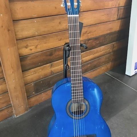 GUITARE STAGG SCL50 BK/BLUE
